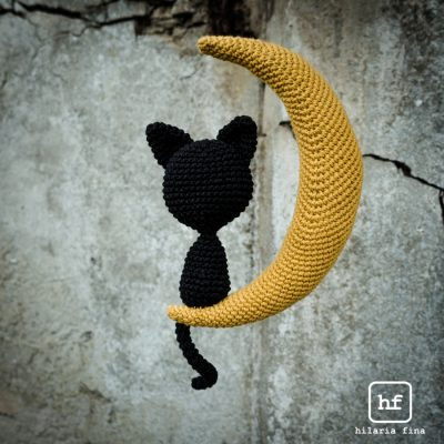 Amigurumi Halloween Black Cat Free Crochet Pattern | Halloween ... | 400x400