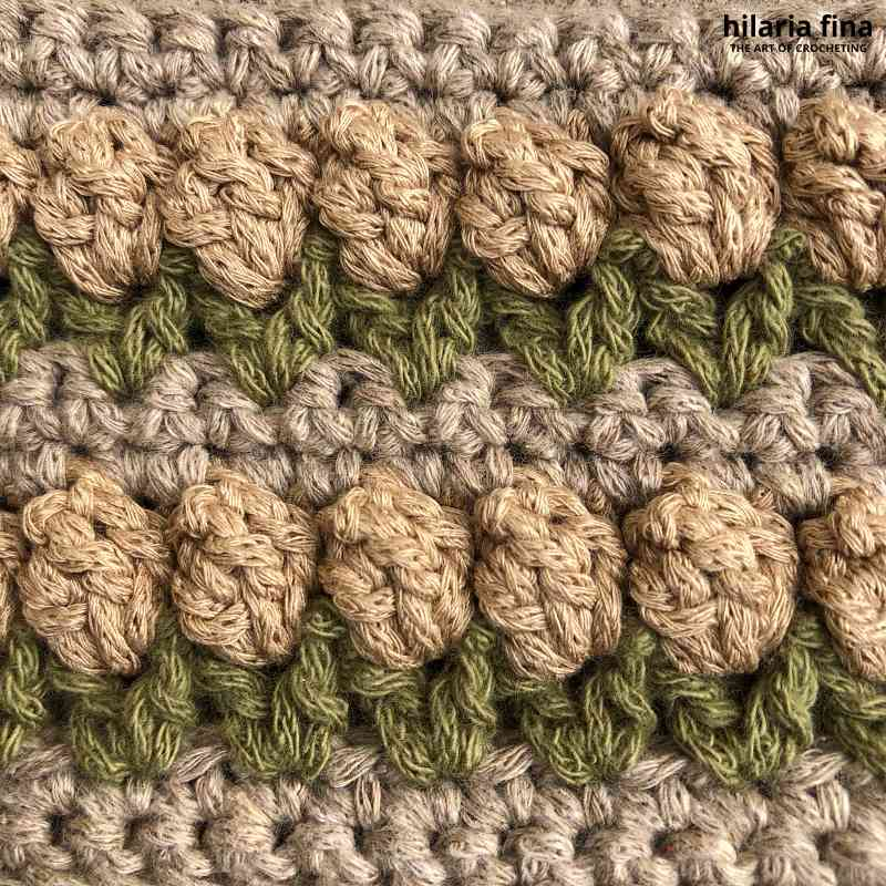 Tulip Crochet Stitch