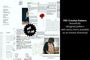 Free and intermediate crochet pattern