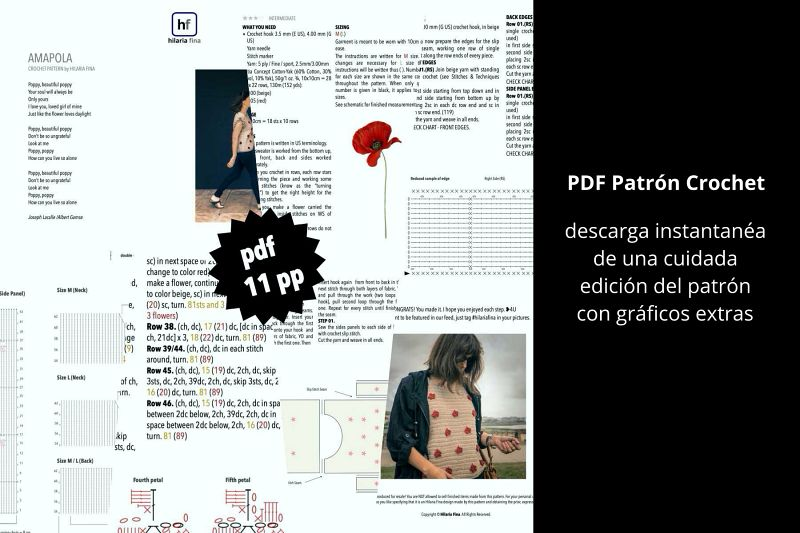 Patrón de Ganchillo PDF