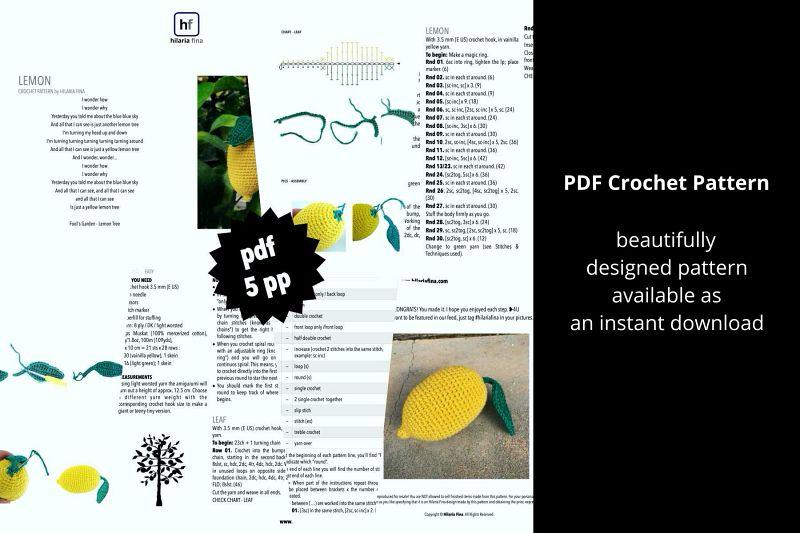 Crochet Pattern PDF