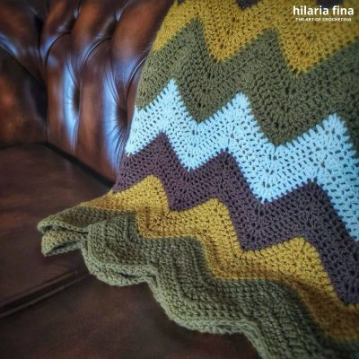 Blanket crochet tutorial
