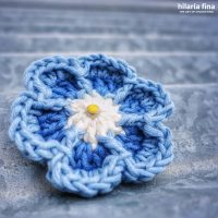 Flower crochet tutorial