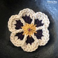 Learn how to crochet this flower