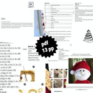 Noelio Amigurumi Crochet Pattern PDF