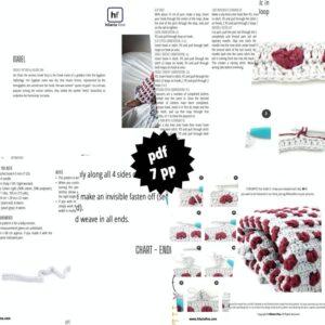 Blanket Crochet Pattern PDF