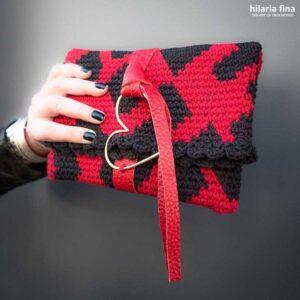 Laurent Hearts Bag