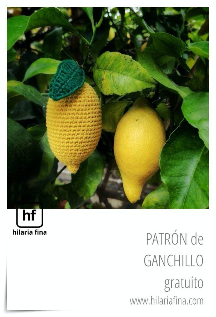 Patrón Gratuito Limón