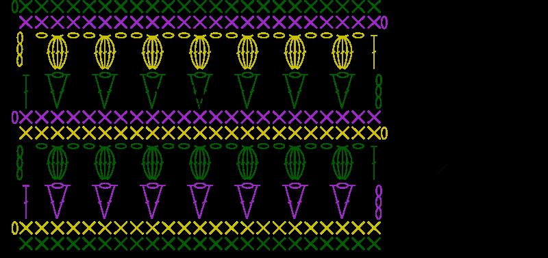 Tulip Stitch Chart