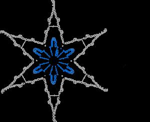 Estrella Gráfico de Ganchillo
