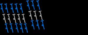 Chart Herringbone Half Double Crochet