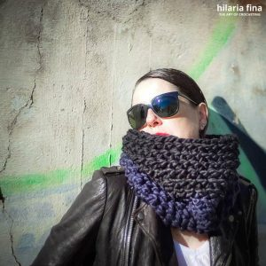 Nina Crochet Cowl