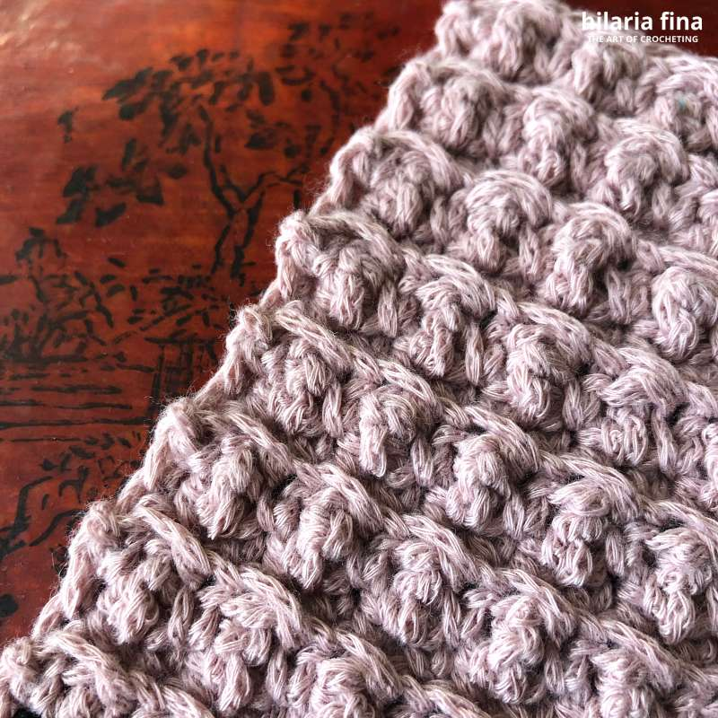 Cobble Crochet Stitch Videotutorial