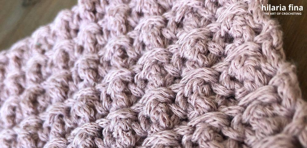 Cobble Crochet Stitch