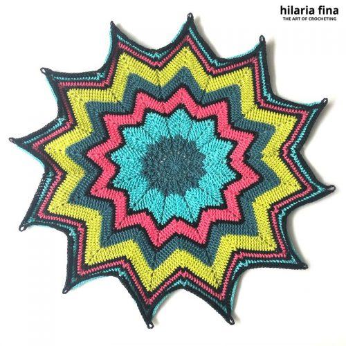 Rose Crochet Bag
