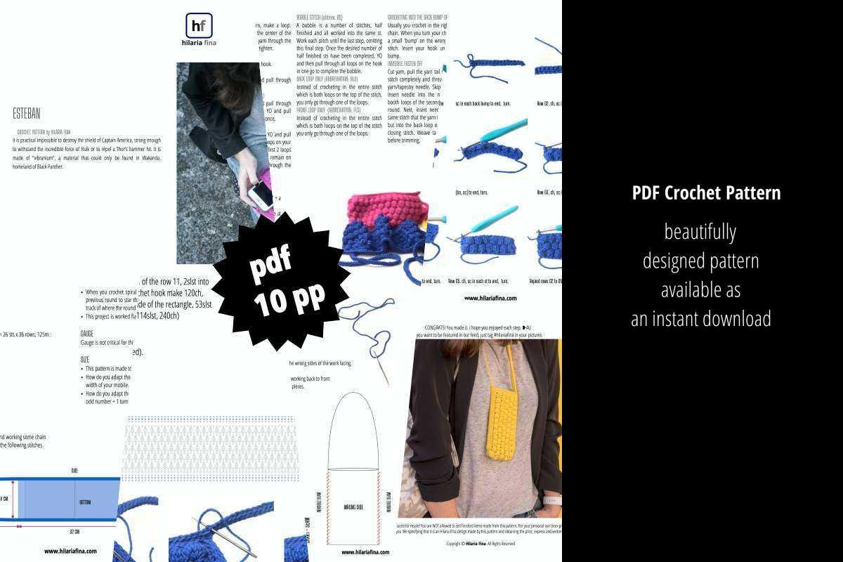 Esteban Pattern PDF