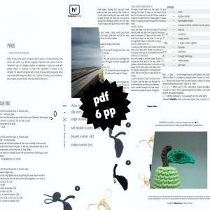 Amigurumi Crochet Pattern PDF