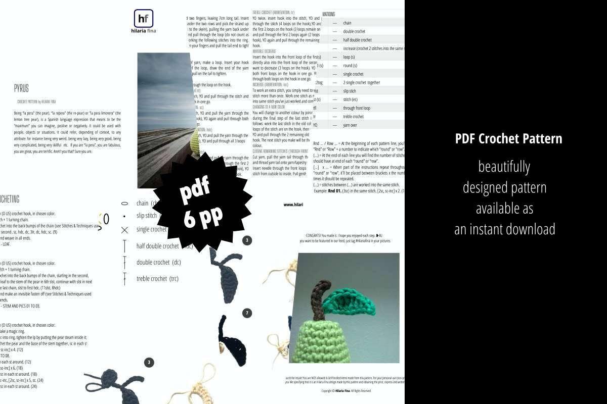 Pyrus PDF Pattern