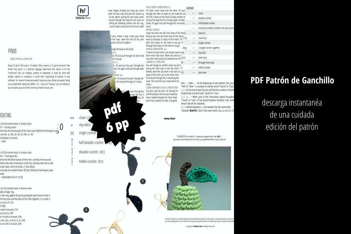 Patrón Ganchillo PDF