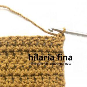 Stacked Single Crochet Stitch 1