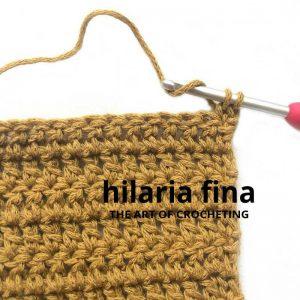 Stacked Single Crochet Stitch 4