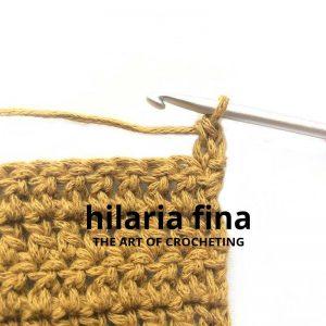 Stacked Single Crochet Stitch 5